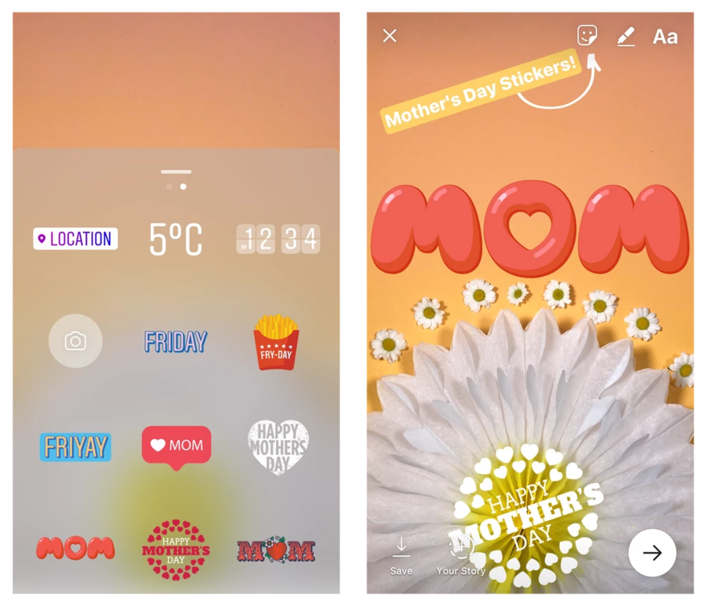mothersdaystickers