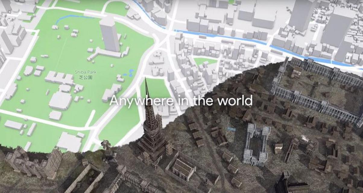 Google Maps Games