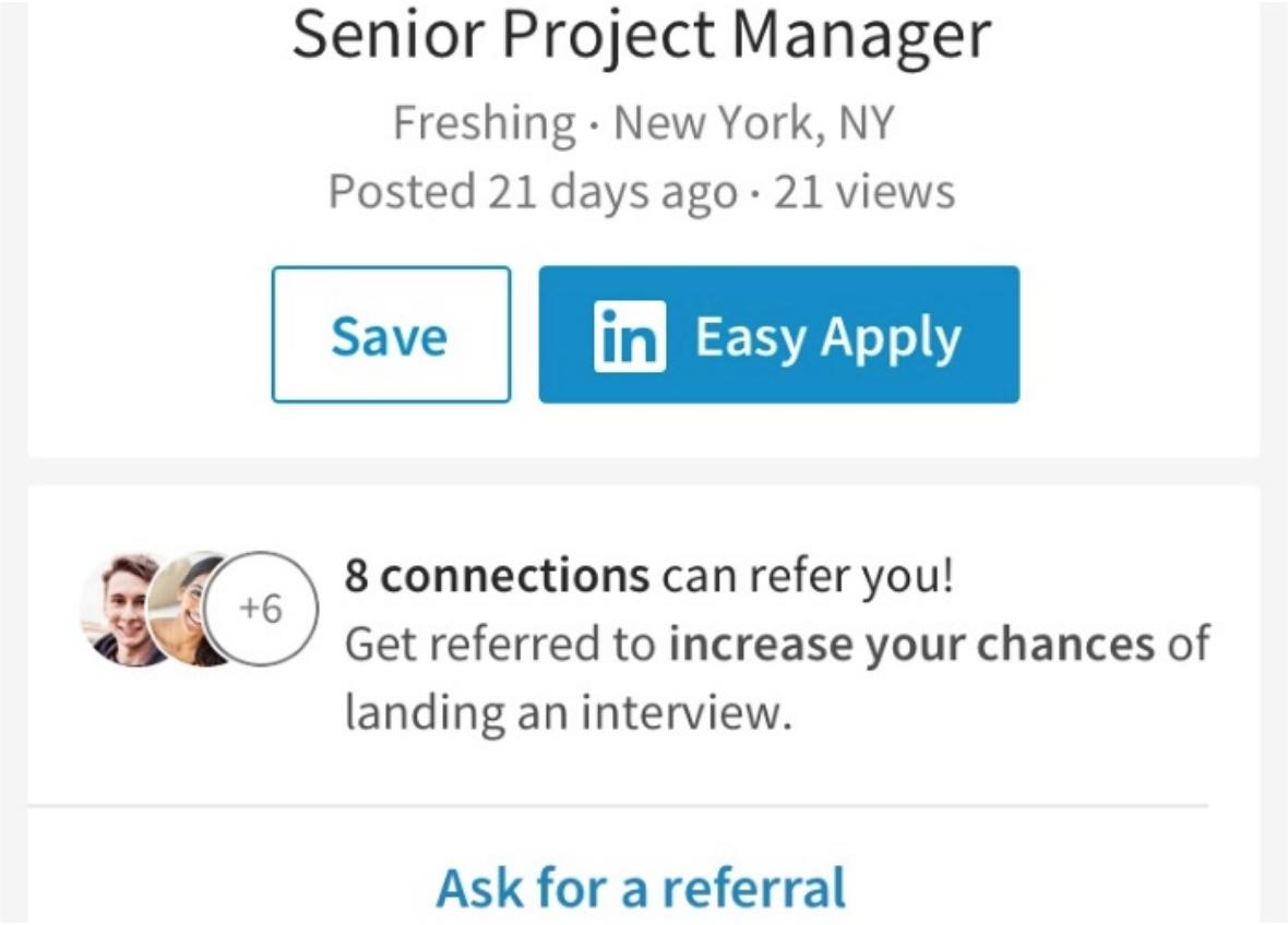 LinkedIn Referrals